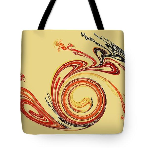 Calligraphy Tote Bag by Anastasiya Malakhova