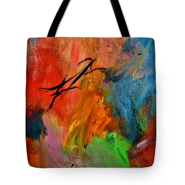 Calligraphy  Tote Bag by Lisa Kaiser