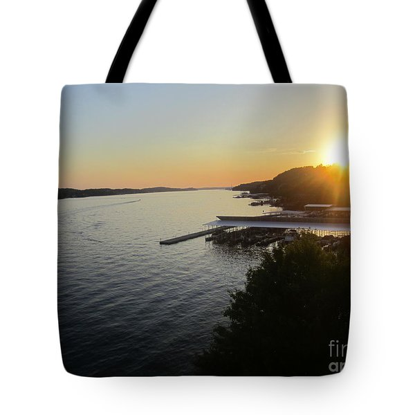 Calling It A Day Tote Bag by Fiona Kennard