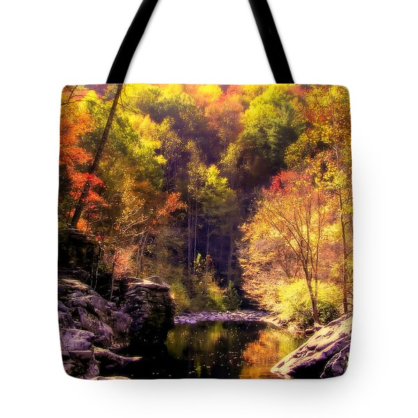 Calling Me Home Tote Bag by Karen Wiles