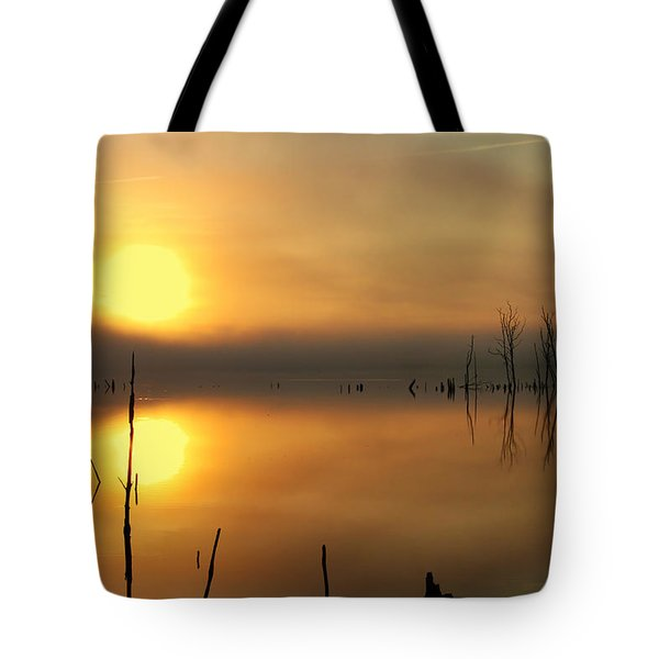 Calm At Dawn Tote Bag