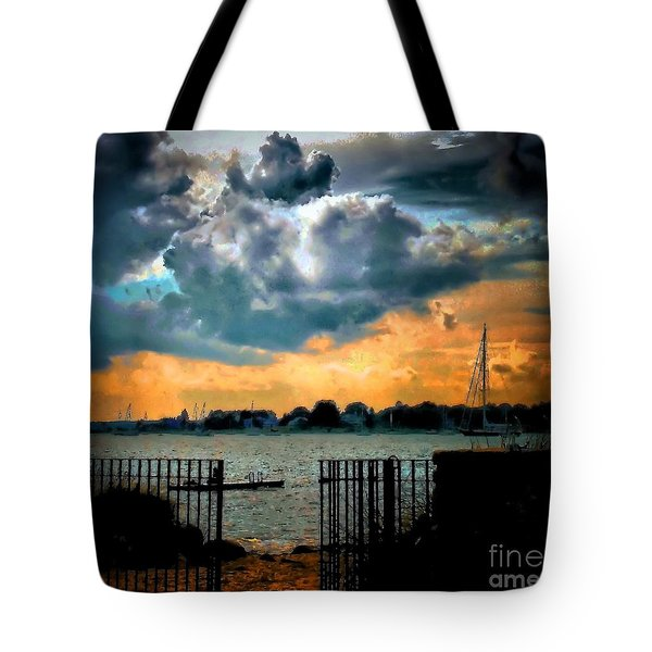 Calm Before Tote Bag by Robert McCubbin