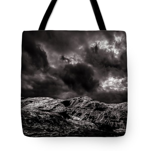 Calm Before The Storm Tote Bag by Bob Orsillo