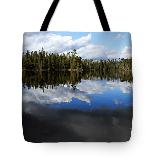 Calm Before The Storm Tote Bag by Larry Ricker