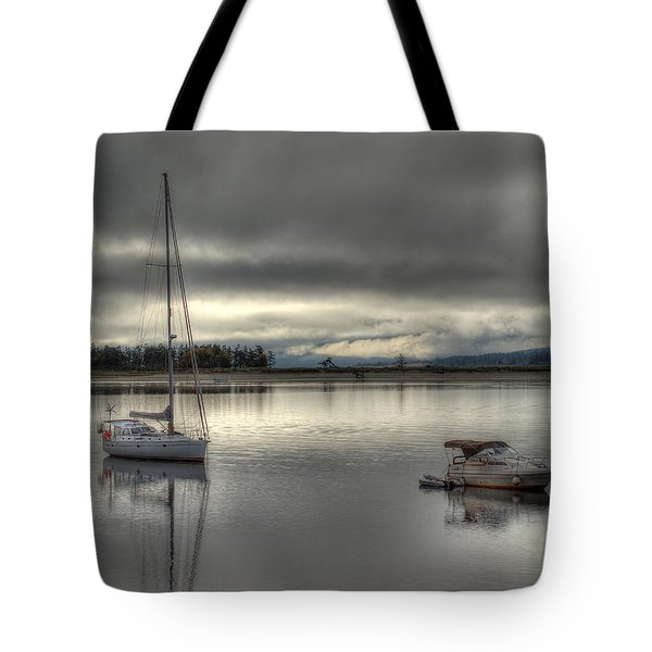 Calm Before The Storm Tote Bag