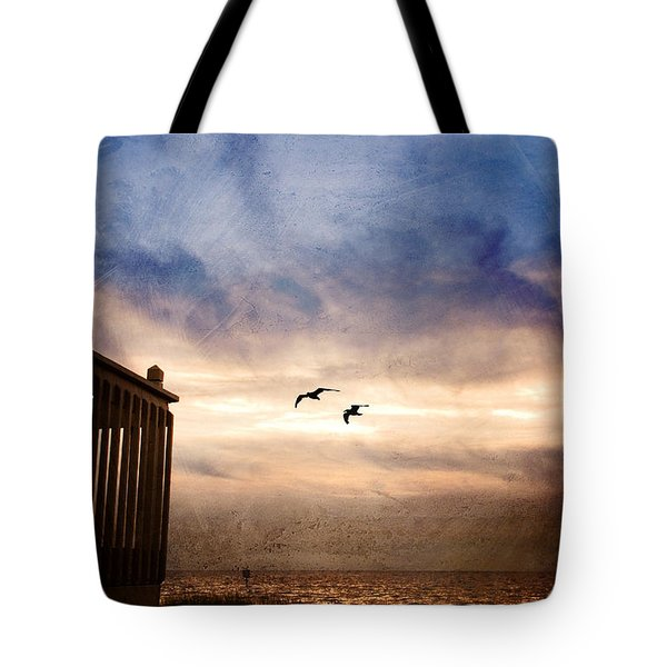 Calm Tote Bag by Beverly Stapleton
