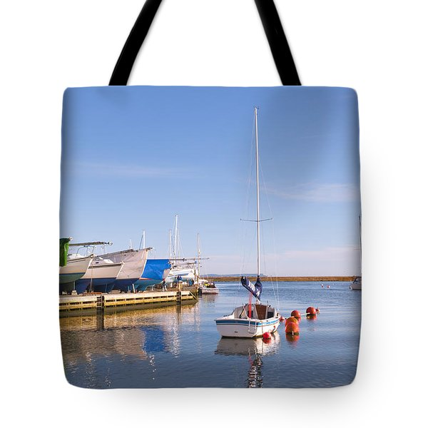 Calm Harbour Tote Bag