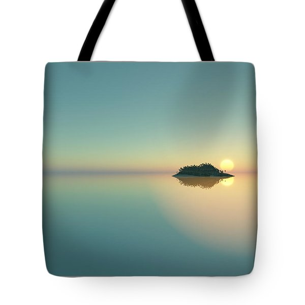 Calm Seas Sunset... Tote Bag by Tim Fillingim