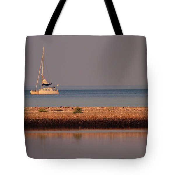 Calm Waters Tote Bag by Karol Livote