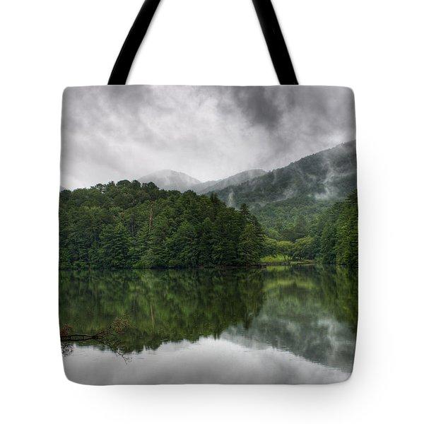 Calm Waters Tote Bag by Rebecca Hiatt