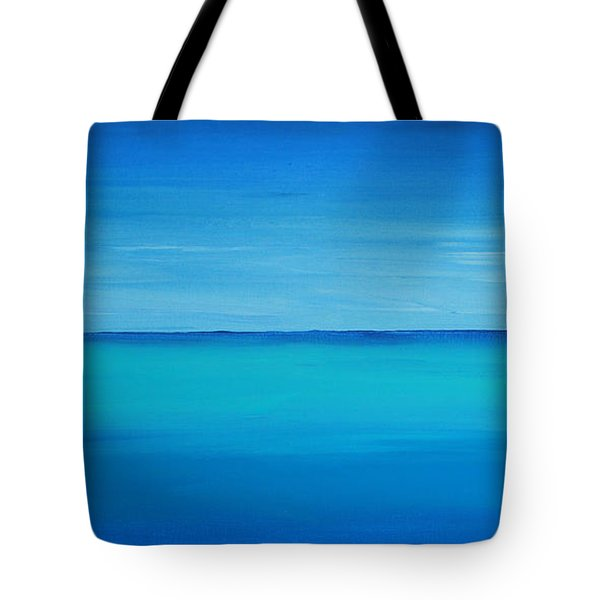 Calming Turquise Sea Part 1 Of 2 Tote Bag