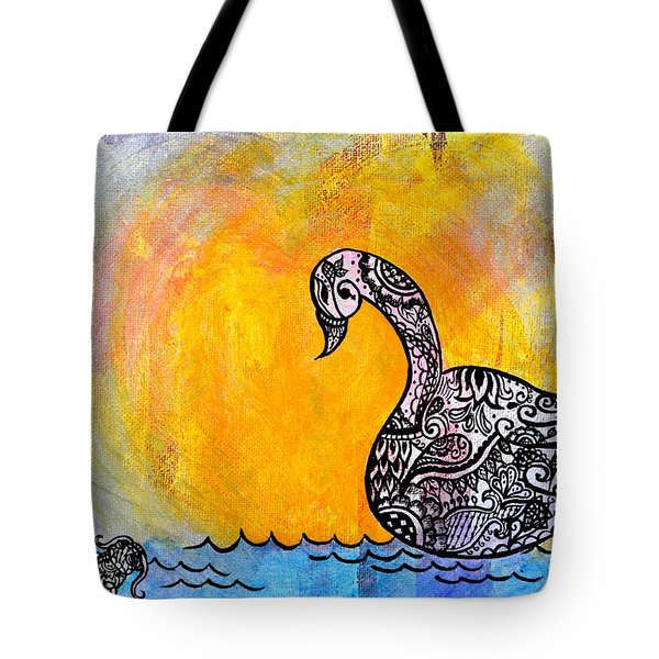 Calming Waters Tote Bag