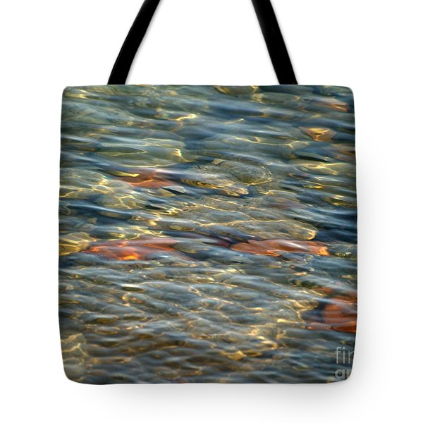 Calming Waters Tote Bag by Susan  Dimitrakopoulos
