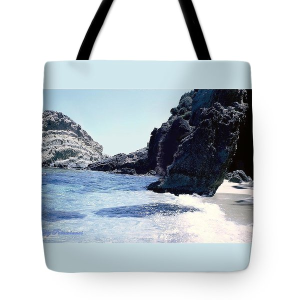 Calming Waves Tote Bag