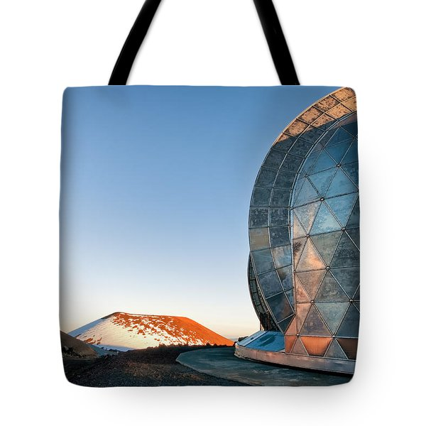 Tote Bag featuring the photograph Caltech Submillimeter Observatory by Jim Thompson