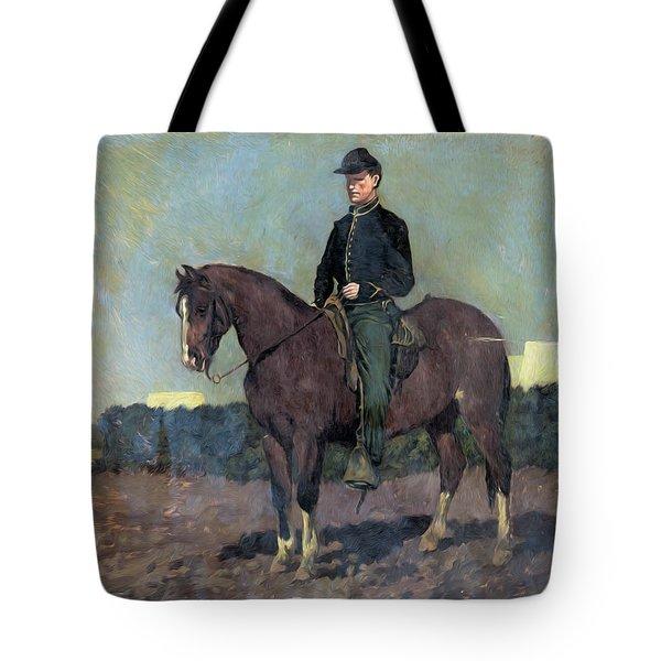 Calvary Soldier Tote Bag