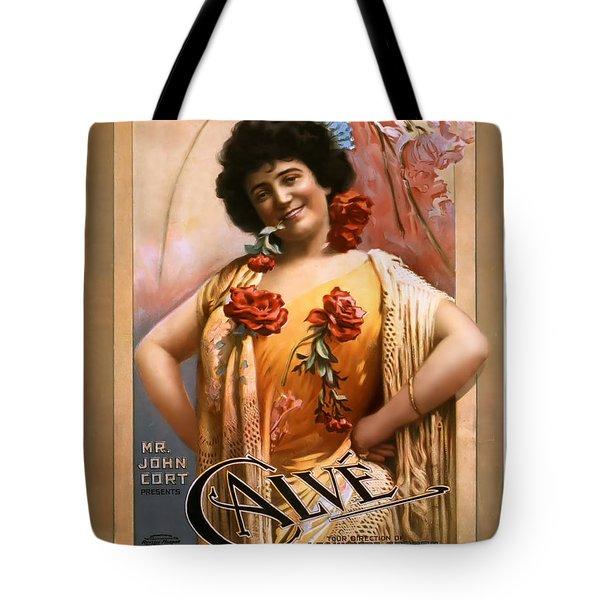 Calve Tote Bag by Terry Reynoldson