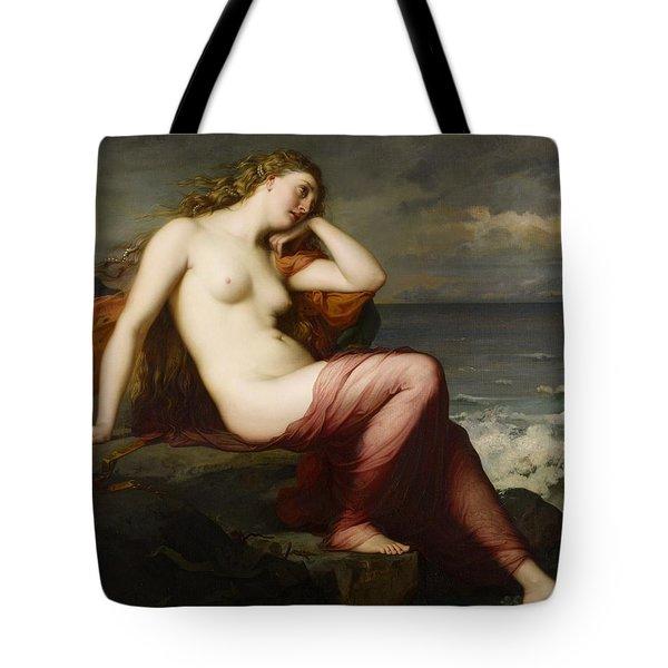 Calypso Tote Bag by Karl Ernest Rudolf Heinrich Salem