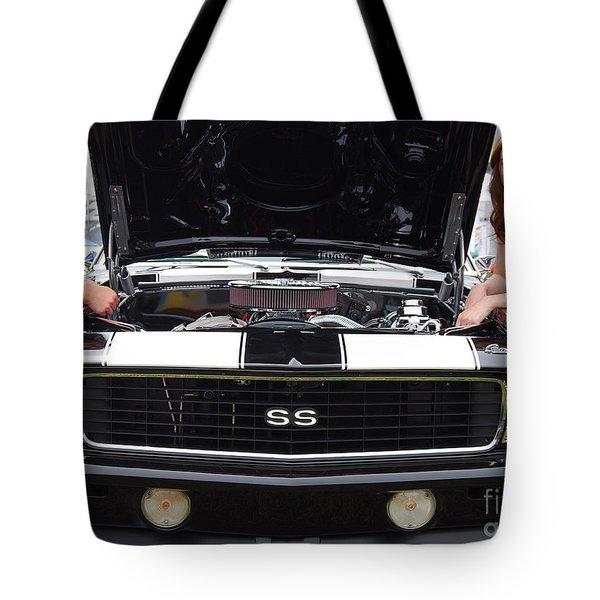 Camaro Chicks Tote Bag