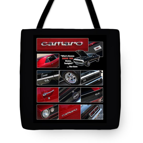 Camaro-drive - Poster Tote Bag by Gary Gingrich Galleries