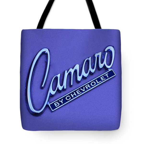 Camaro Tote Bag by Frozen in Time Fine Art Photography