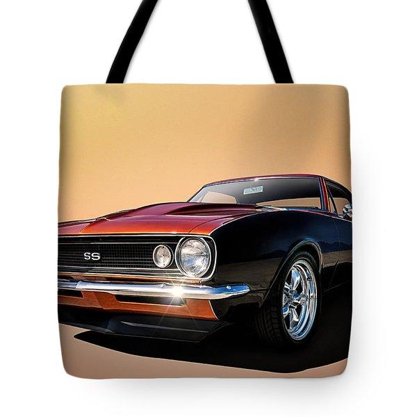 Camaro Ss Tote Bag