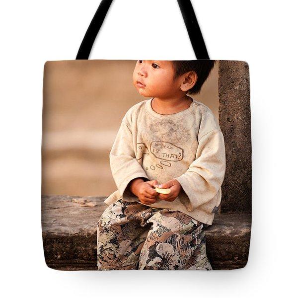 Cambodian Girl 02 Tote Bag