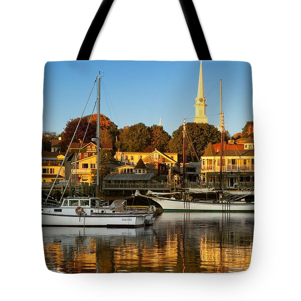 Camden Maine Tote Bag