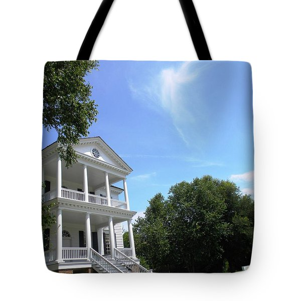 Angel Over Camden House Tote Bag