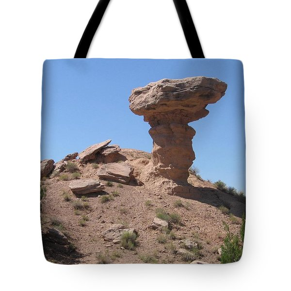 Tote Bag featuring the photograph Camel Rock - Natural Rock Formation by Dora Sofia Caputo Photographic Art and Design