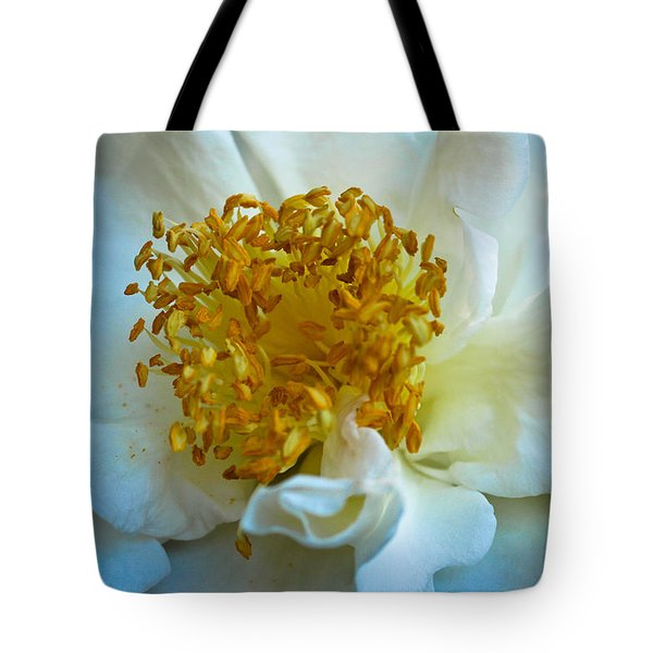 Tote Bag featuring the photograph Camellia by Julie Andel