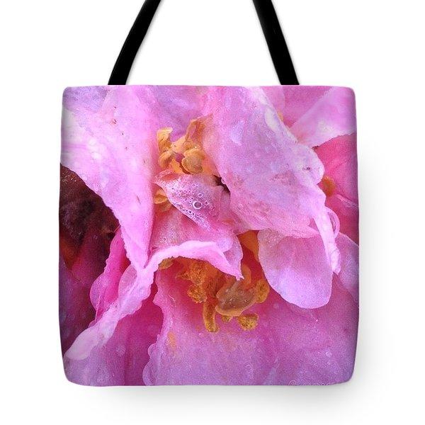 Camellia Parts Tote Bag