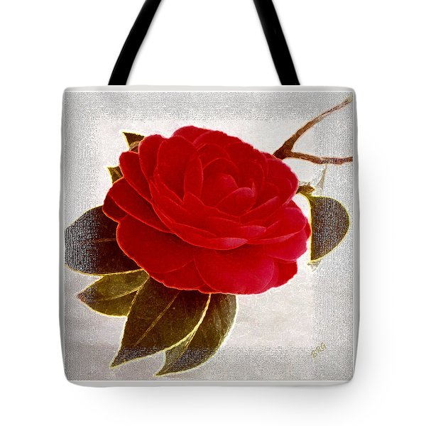 Camellia Spectacular Tote Bag by Ben and Raisa Gertsberg