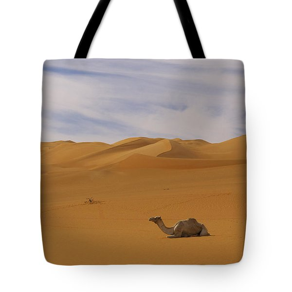 Camels Tote Bag by Ivan Slosar