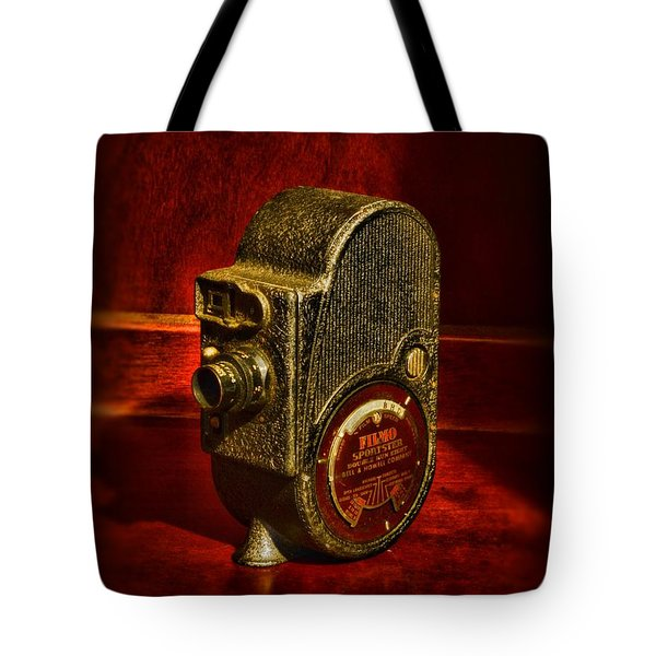 Camera - Bell And Howell Film Camera Tote Bag by Paul Ward