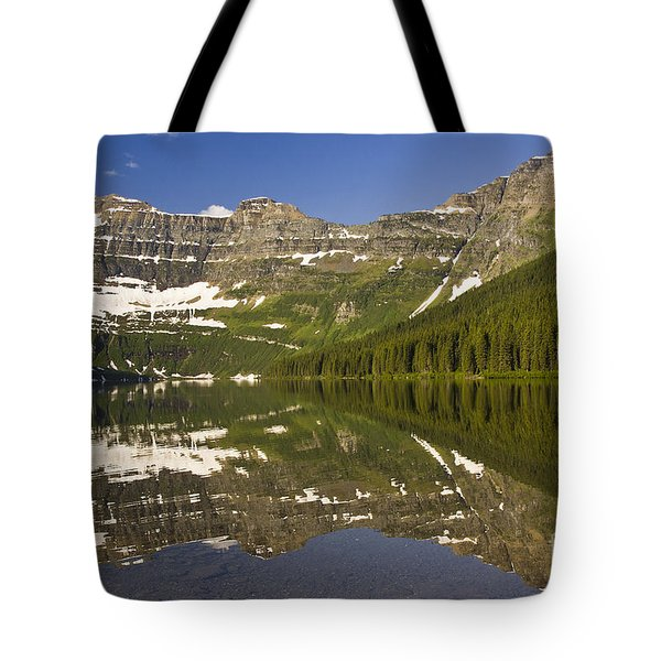 Cameron Lake Tote Bag