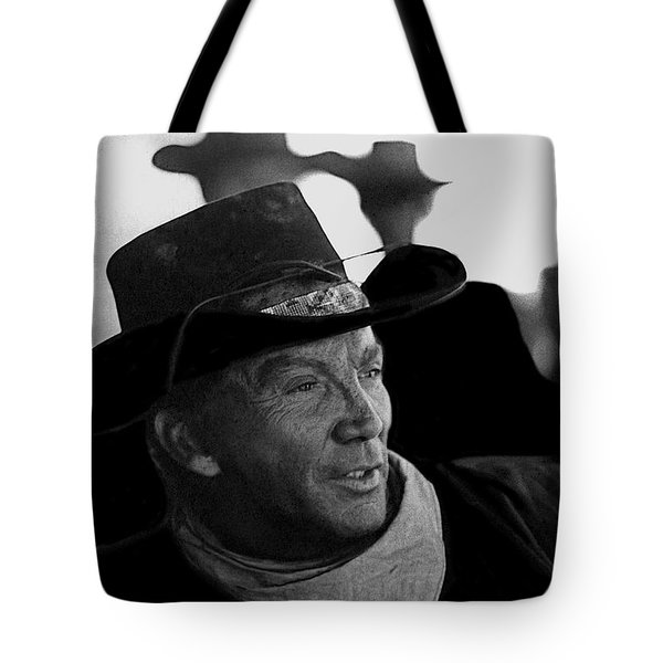 Cameron Mitchell The High Chaparral Tote Bag by David Lee Guss