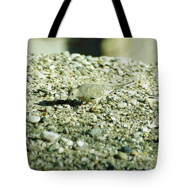 Arizona Camo Bird Tote Bag by Belinda Lee