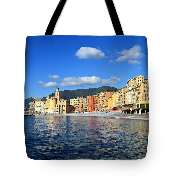 Tote Bag featuring the photograph Camogli - Italy by Antonio Scarpi