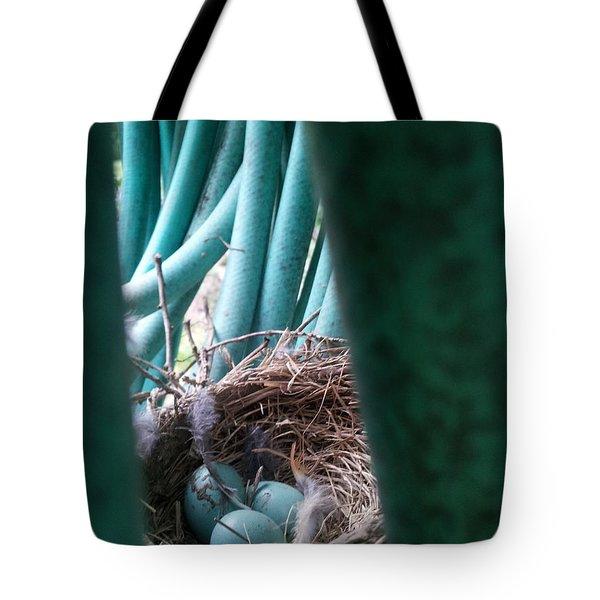 Camouflage Intent Tote Bag by Renate Nadi Wesley