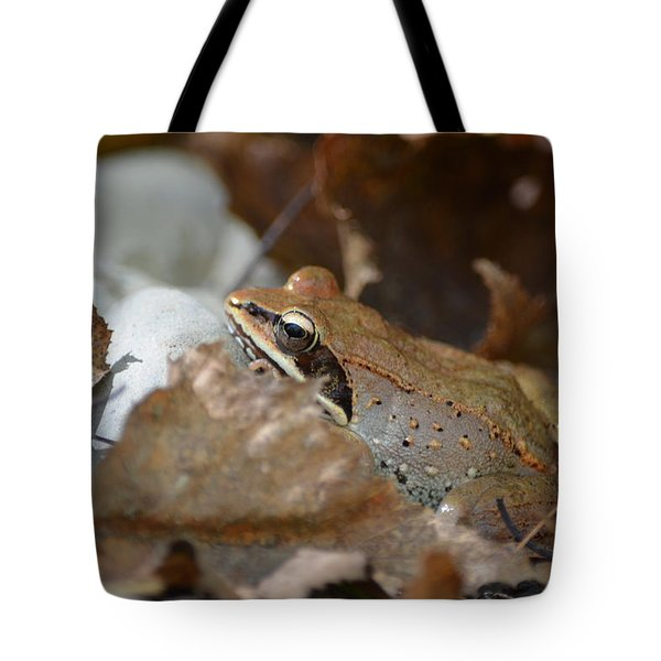 Camouflage Tote Bag by James Petersen