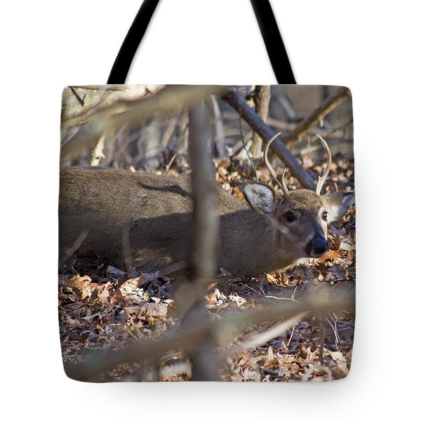 Camouflaged Tote Bag