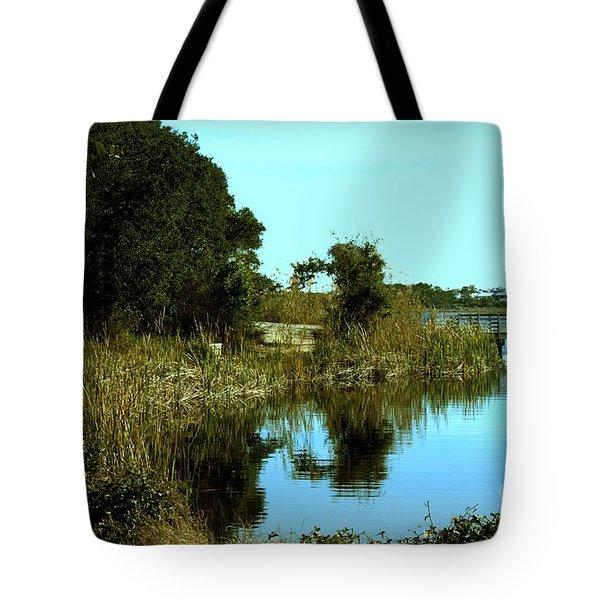 Camp Helen Tote Bag