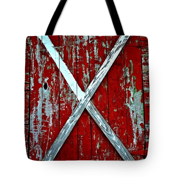 Camp Westminster Barn Tote Bag