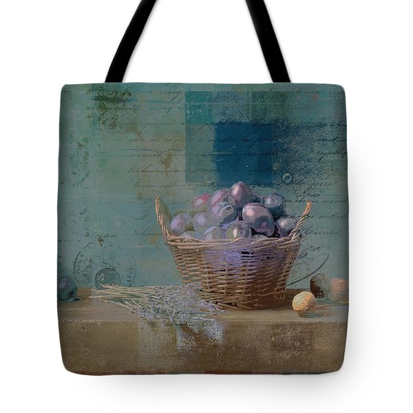 Campagnard - Rustic Still Life - J085079161f Tote Bag by Variance Collections