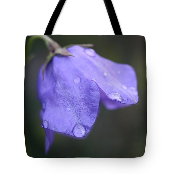 Campanula After The Rain Tote Bag by Mark Severn