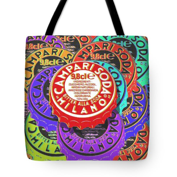 Campari Soda Caps Tote Bag
