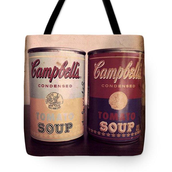 Campbells Redux 2 Tote Bag