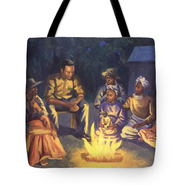 Campfire Stories Tote Bag