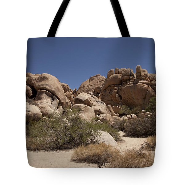 Camping Tote Bag by Amanda Barcon